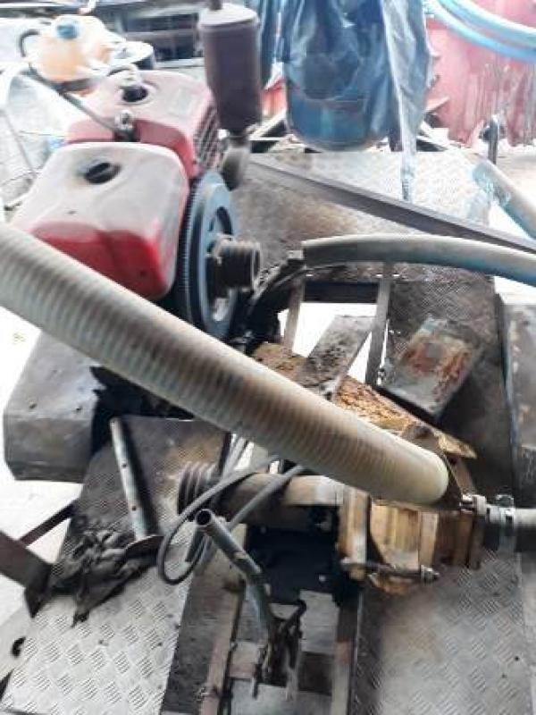 BOMBA DE TIRAR AREIA COM MOTOR A DIESEL TRAMONTINA 22 CV