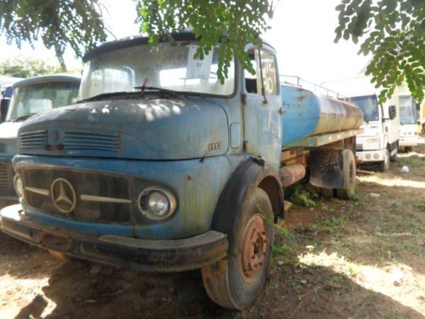 APENAS CAMINHÃO - CAMINHÃO M. BENZ L 1113, 130CV, ANO 1973/1973