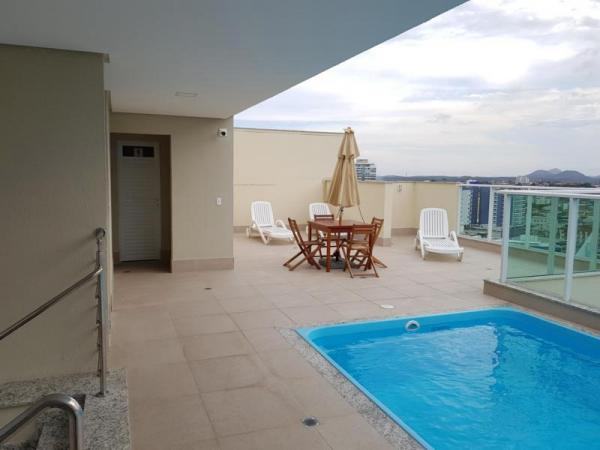 """Cobertura Duplex n.º 2-A Torre """" A """" - Edifício Port Soleil Residence - Guarapari/ES"""